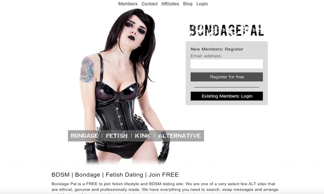 fetish lifestyle and BDSM dating site